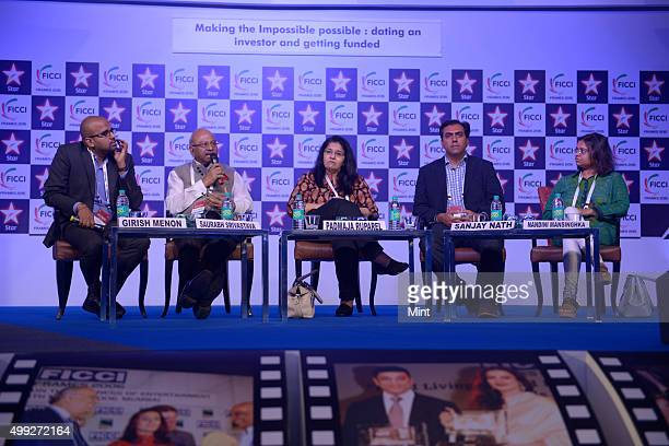 Girish Menon Director of Transactions Restructuring at KPMG India Saurabh Srivastava cofounder of NASSCOM IVCA TiE Indian Angel Network Padmaja...