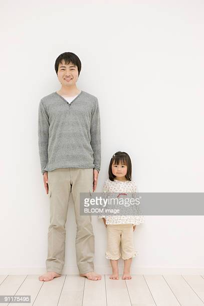 Girl and father