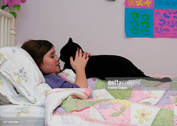 A Girl and Her Cat