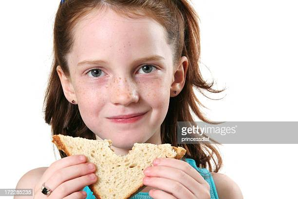 Girl and her Sandwich