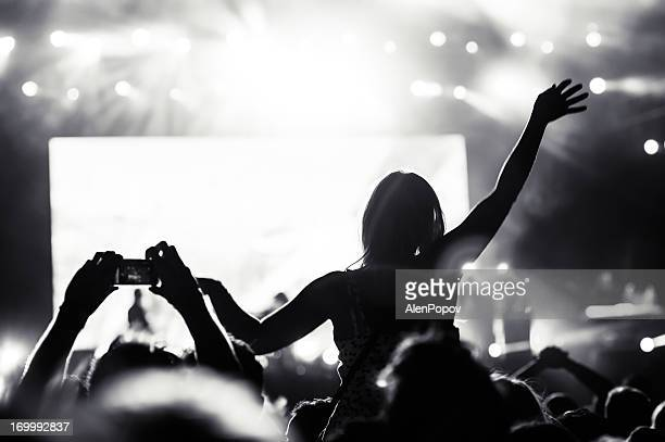 Girl at a concert