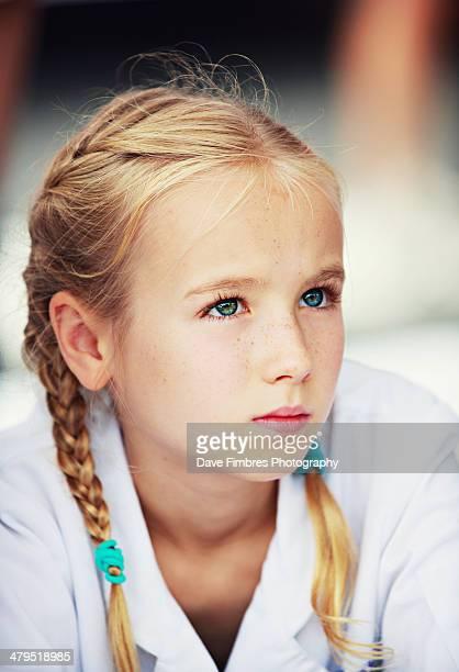 Girl At Farmer's Market (Junior Sous Cheff)