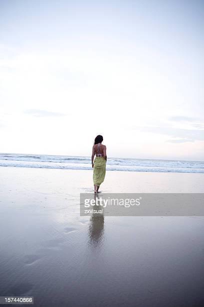 Girl at Seminyak Bali