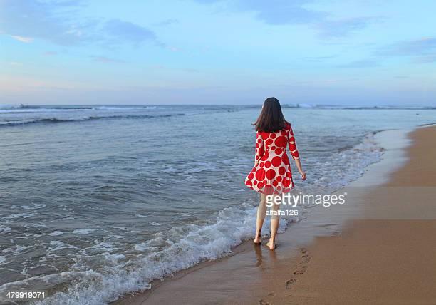 girl at the seashore