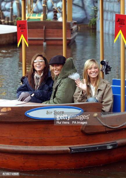 Girl band Atomic Kitten from left to right Natasha Hamilton Jenny Frost and Liz McClarnon are the first to experience the new 25 million family...