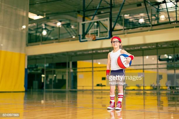 Girl Basketball Portrait
