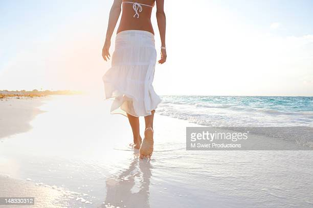 Girl beach mexico
