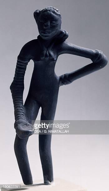 Girl dancing bronze statue copy from Mohenjodaro Pakistan Indus Valley Civilisation mid 3rd millennium BC