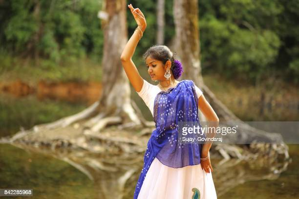 Girl Dancing in the Outdoors