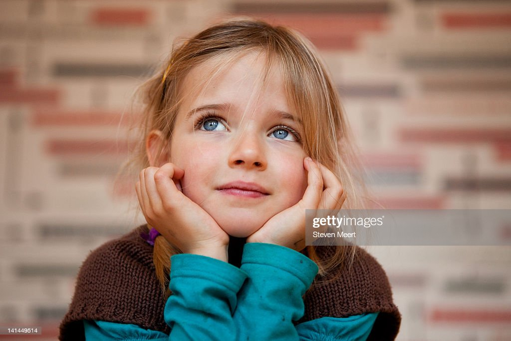 Girl day dreaming : Stock Photo