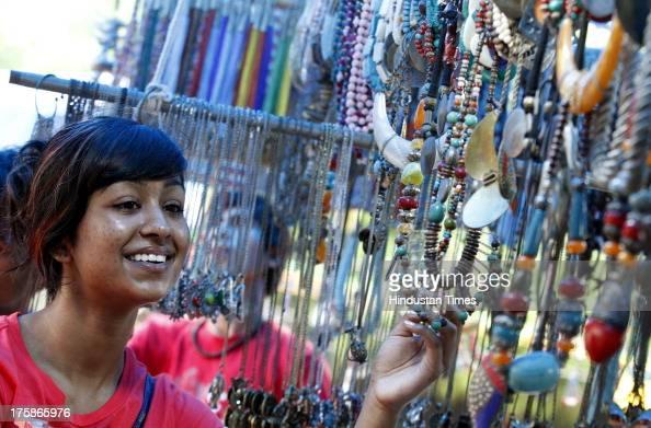 Hindu goddess enjoying her slavic head