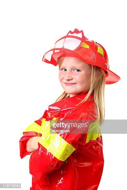 Fille de pompier