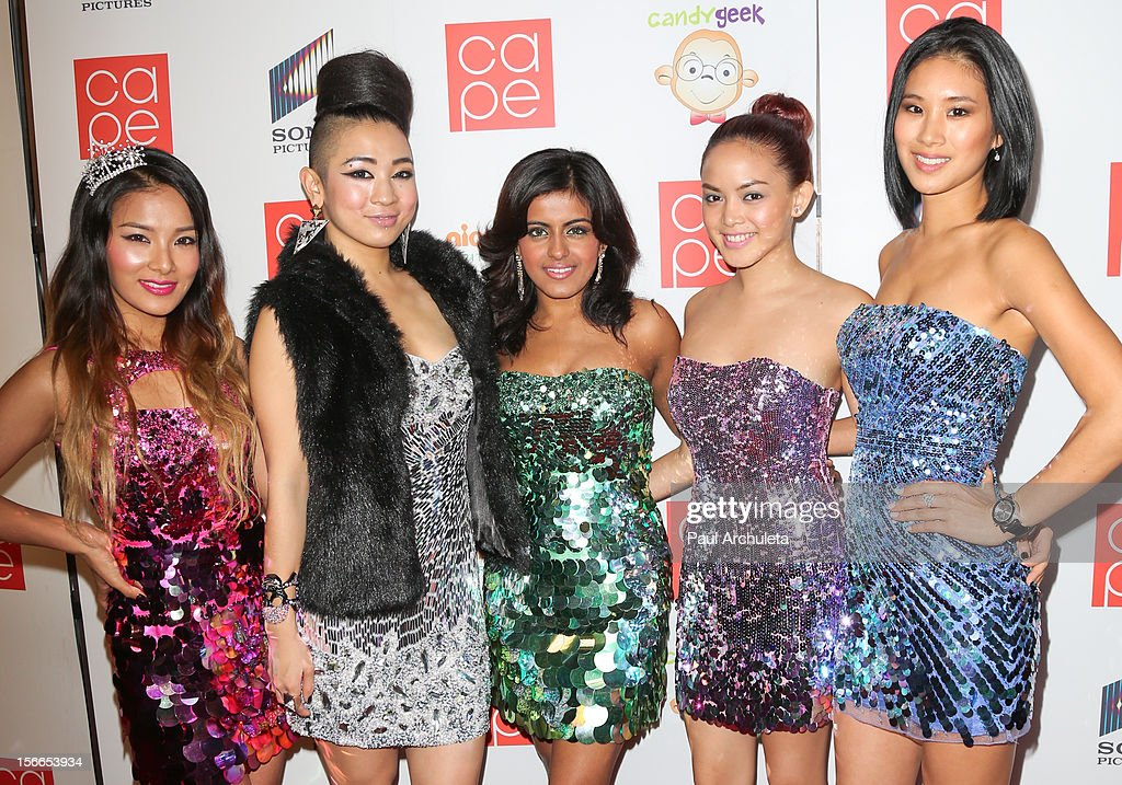 Girl Group Blush attends the 2012 CAPE Holiday Fundraiser 'I Am...All In' at the W Hollywood on November 17, 2012 in Hollywood, California.