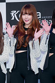 Girl group Dal Shabet attends the photocall for the Tekken7 20th Anniversary at W Tower on January 28 2015 in Seoul South Korea