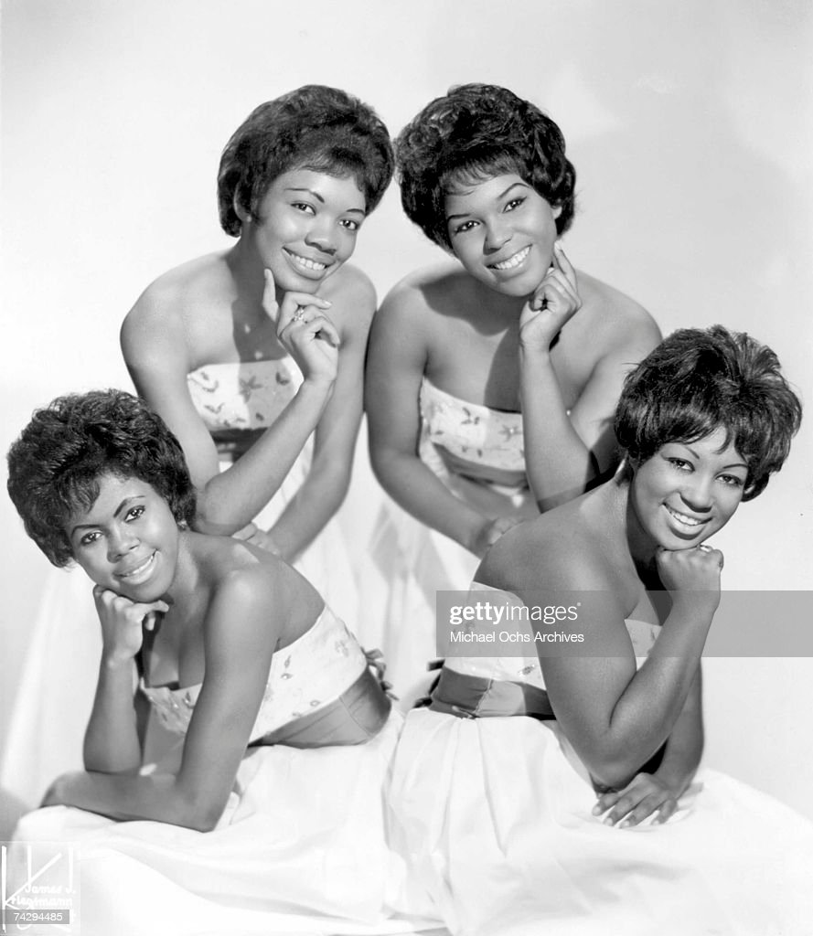 Girl group The Shirelles pose for a portrait circa 1965 in New York City, New York.