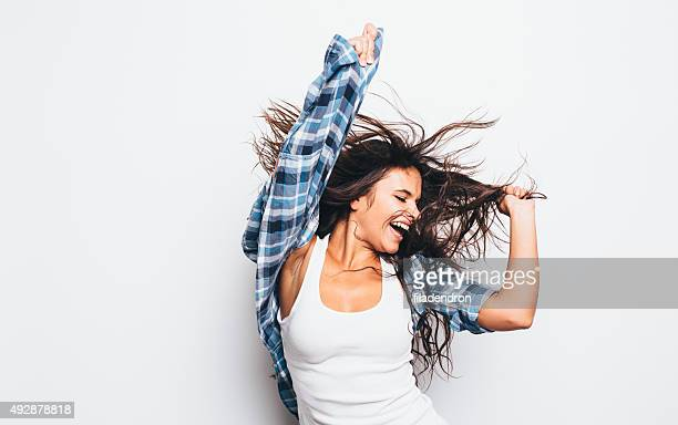 girl having fun
