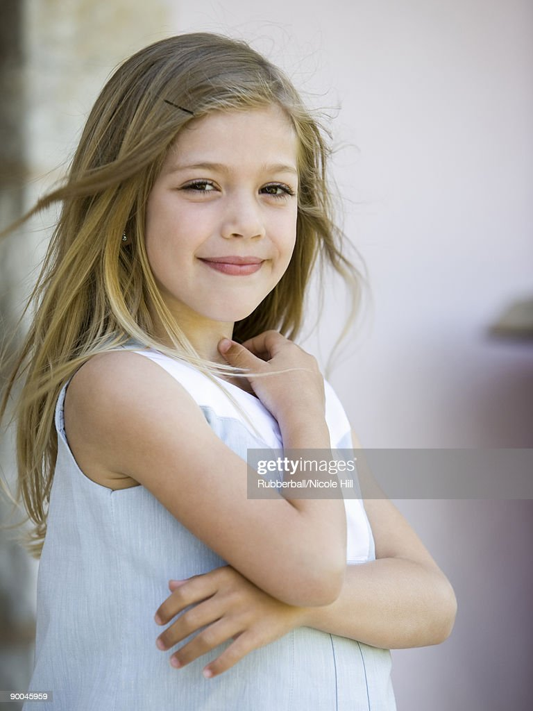 girl in a dress : Stock Photo
