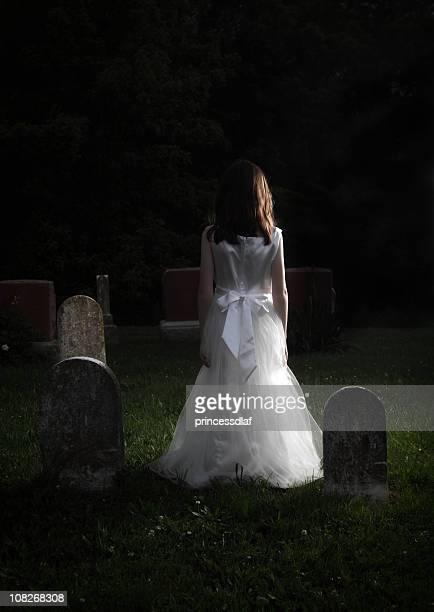 Girl in a Graveyard