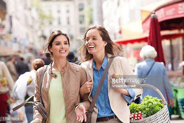 Girl in a market