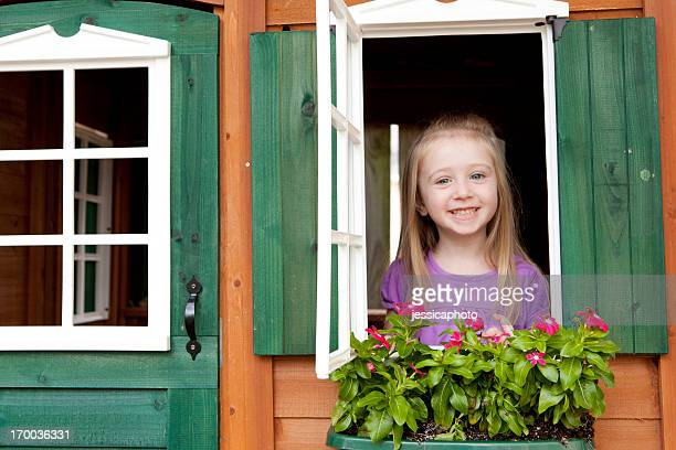 Girl in a Playhouse