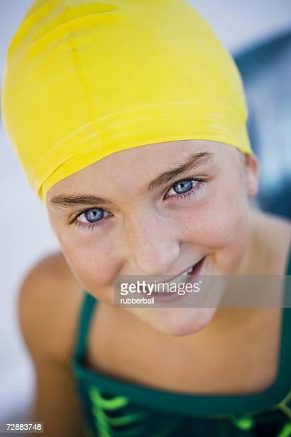 Girl in bathing suit