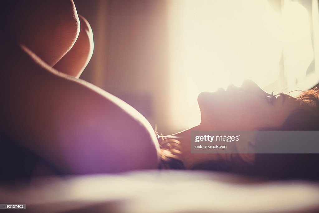 Girl in bed : Stock Photo