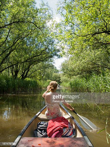 Girl in Canoe