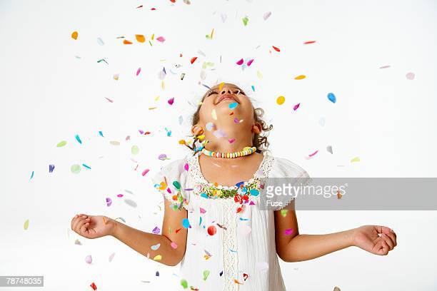 Girl in Confetti