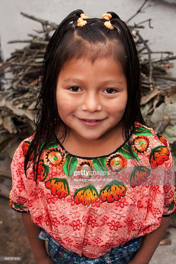 Girl in Momostenango