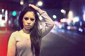 Girl in Night