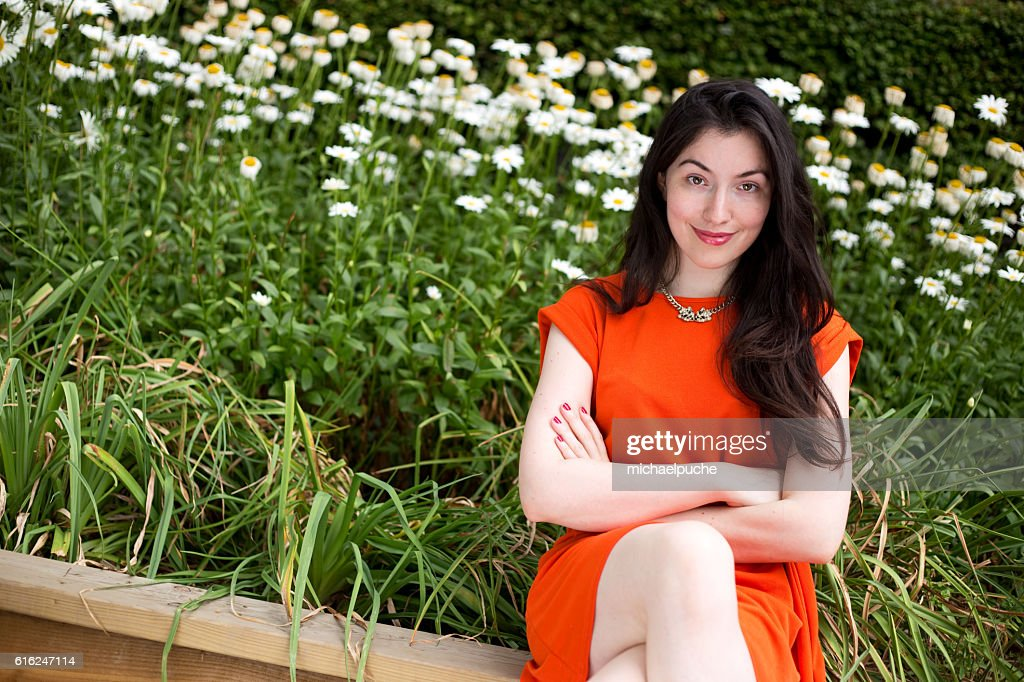 girl in the park : Stock Photo