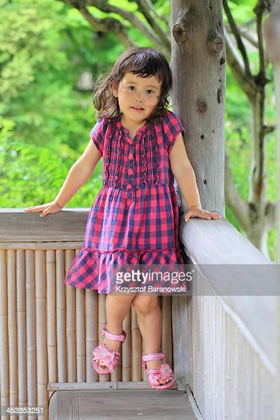 Girl in the Pavilion
