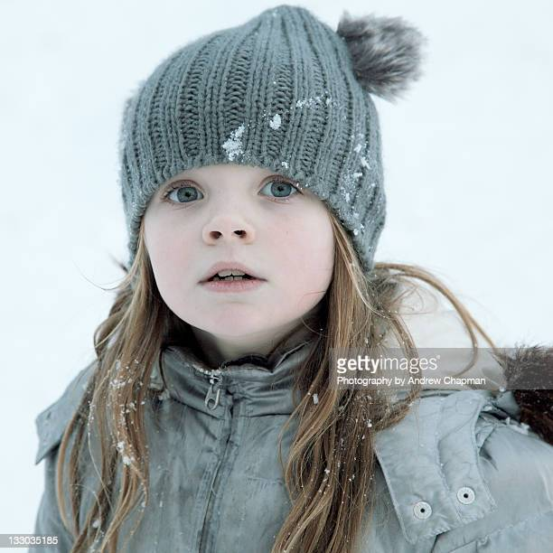 Girl in tunbridge wells snow