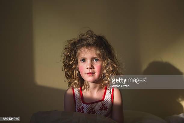 Girl in Window Light