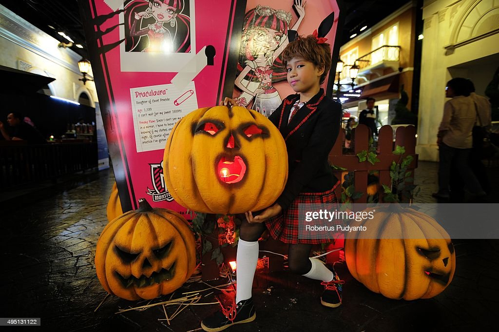 a girl performs during halloween celebration at ciputra world mall on october 31 2015 in - What Is Halloween A Celebration Of