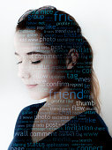 Girl portrait/ Social media