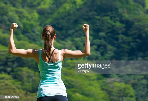 Girl power! : Stock Photo