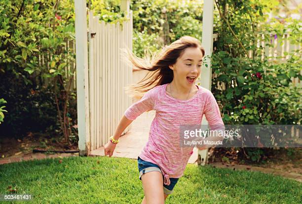 Girl Running - Play