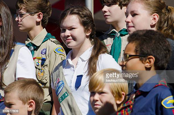 Girl Scouts and Boy Scouts