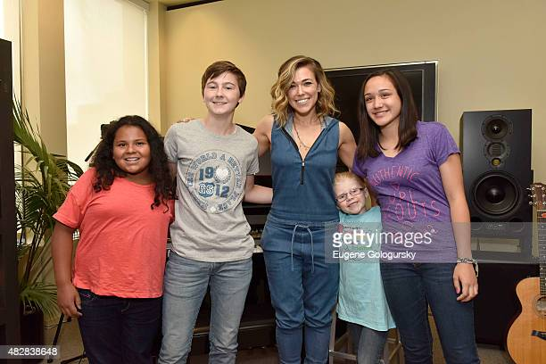 Girl Scouts draw inspiration from Rachel Platten's 'Fight Song' while hanging with the songstress who hopes more girls will join in the fun and...