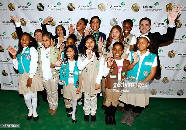 Girl Scouts of the USA executive team members Deborah Taft Chief Development Officer Nhadine Leung Chief of Staff Anna Maria Chavez Chief Executive...