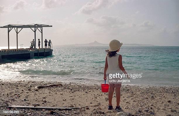 Girl see the sea