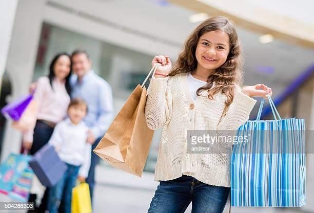 Menina de Compras