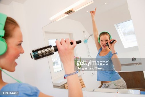 Girls Going To The Bathroom Stock Photos And Pictures