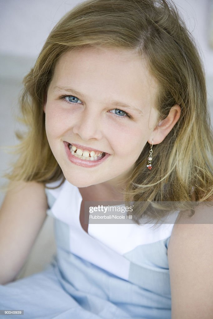 girl smiling : Stock Photo