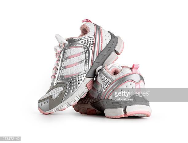 Girl Sport Shoes w/Clipping path