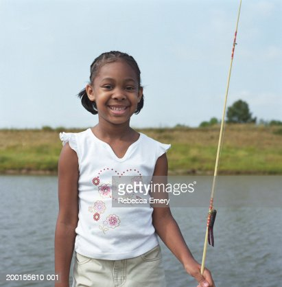 Rebecca fisher stock photos and pictures getty images for Girl fishing pole