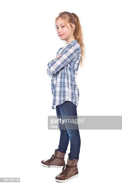 Girl standing