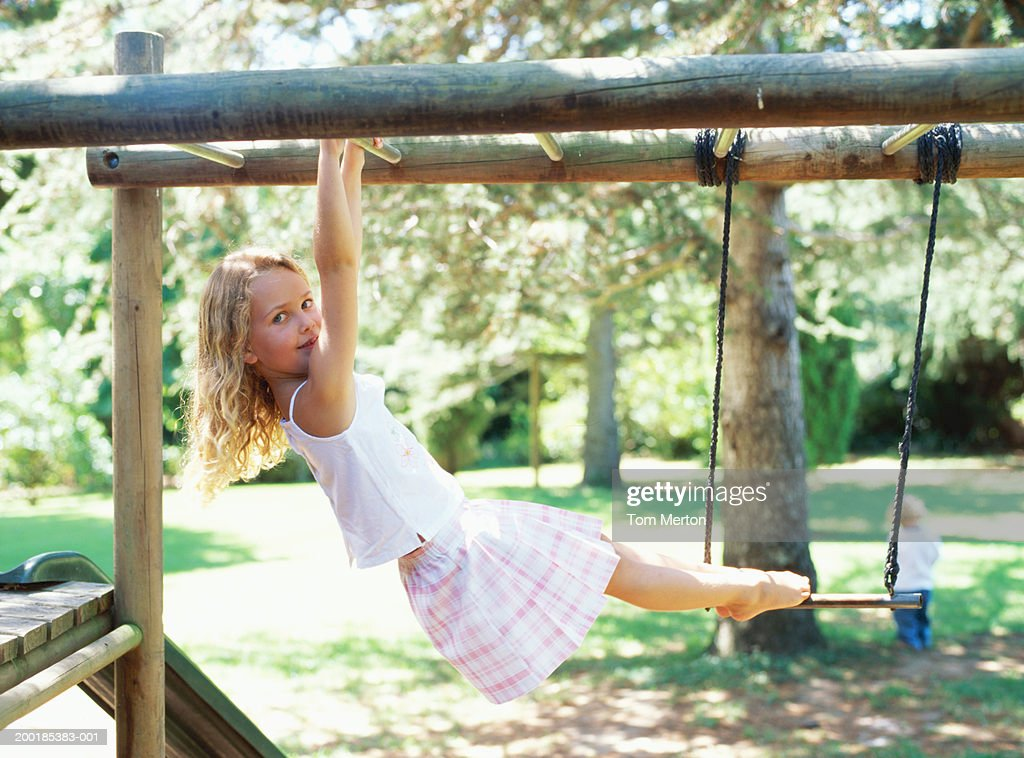 women on monkey bars for adults