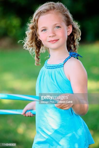 A Girl With A Hula Hoop